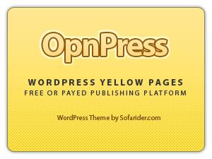 Free theme:Sofa OpnPress