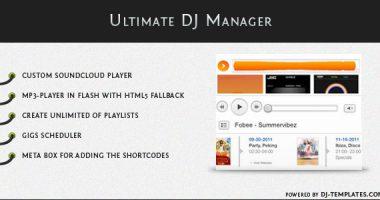 Ultimate DJ Manager – mp3播放插件