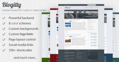 Blogitty 杂志型wordpress主题汉化版[0.6]