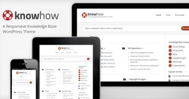 KnowHow 类似问问知识树WordPress主题完全汉化版