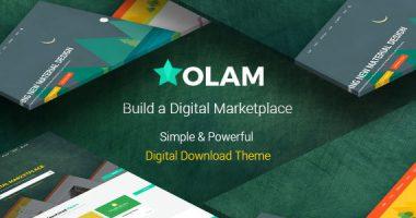 WordPress主题 Olam 资源下载数字下载高级商城中文主题[v3.2版]