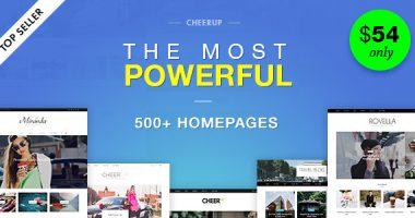 CheerUp – WordPress杂志博客主题汉化破解版