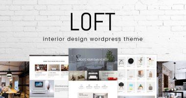 Loft – 室内设计类WordPress主题[1.0.6]